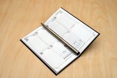 kalendarzowy pióro zdjęcia royalty free