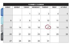 Kalendarzowy planista organizaci zarządzanie Przypomina pojęcie Zdjęcie Stock