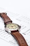 kalendarzowy wristwatch Obraz Stock