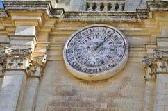 Kalendarzowy zegar obrazy royalty free