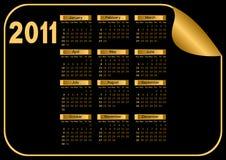 kalendarzowy zmrok Fotografia Royalty Free