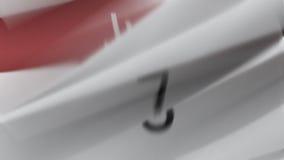Kalender (år) vektor illustrationer