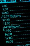 Kalender 02 Royalty-vrije Stock Foto's