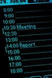 Kalender 02 Lizenzfreie Stockfotos