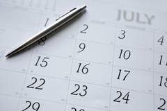 kalender Royaltyfri Bild