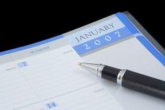 kalender Royaltyfria Foton
