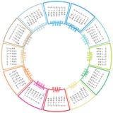 Kalender 2008   Royalty-vrije Stock Fotografie