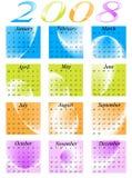 Kalender 2008 vector illustratie