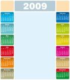 Kalender 2009 Royalty-vrije Stock Foto's