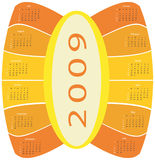 Kalender 2009 Stockbild