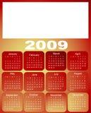 Kalender, 2009 Stock Foto