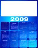 Kalender, 2009 Stock Afbeeldingen