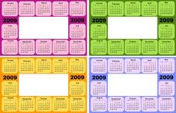Kalender, 2009 Royalty-vrije Stock Foto's