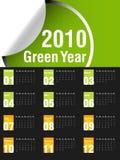 Kalender 2010 stock abbildung