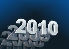Kalender 2010 Stockfoto