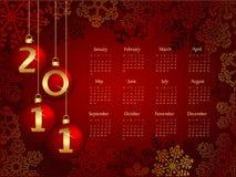 Kalender 2011 Lizenzfreie Stockbilder