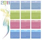 Kalender 2011 Stockfotos