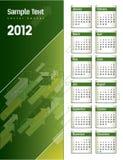 Kalender 2012 Stockfotos