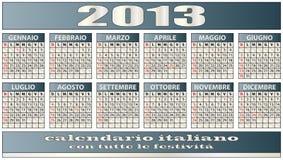 kalender 2013 Royaltyfri Foto