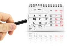 Kalender Stockfotos