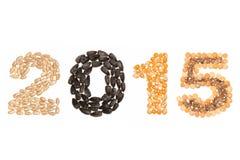 Kalender 2015 Lizenzfreie Stockbilder