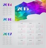 Kalender 2015 Stock Foto's