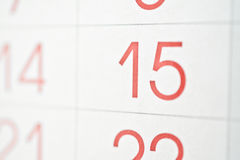 kalender arkivfoton