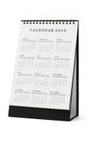 Kalender 2015 Stockbild