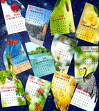 Kalender 2015 Stock Fotografie