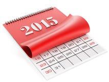 2015 Kalender Stock Foto
