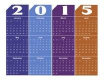 2015 Kalender Stock Foto's