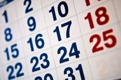 kalender Fotografering för Bildbyråer