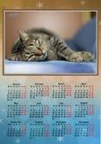 Kalender 2017 Royaltyfri Fotografi