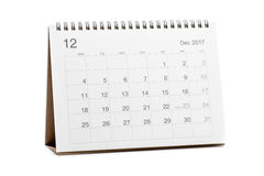 Kalender 2017 Stock Foto's