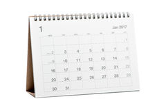 Kalender 2017 Stock Fotografie