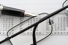kalender arkivfoto