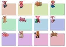 Kalender auf 2007 Jahr (leere Schablone) Stockfotos