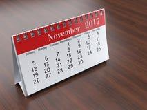 Kalender der Wiedergabe 3D Stockbild