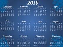 Kalender für 2010 Lizenzfreies Stockfoto