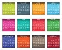 Kalender für 2011 Lizenzfreie Stockbilder