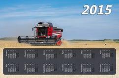 Kalender für 2015 Stockfotografie