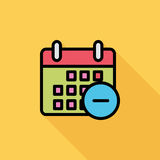 Kalender mit Mangel Lizenzfreie Stockfotos
