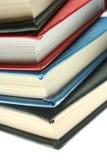 Kalender oder Bücher Stockbild
