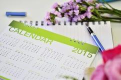 Kalender van 2015 Stock Afbeelding