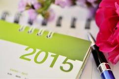 Kalender van 2015 Stock Afbeeldingen