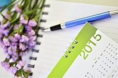 Kalender von 2015 Lizenzfreies Stockbild