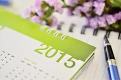 Kalender von 2015 Lizenzfreie Stockfotos