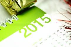 Kalender von 2015 Stockbilder