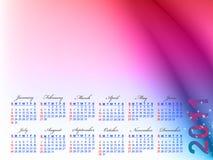 Kalender voor 2011 Stock Foto's