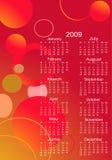 Kalender voor volgend jaar Stock Foto's